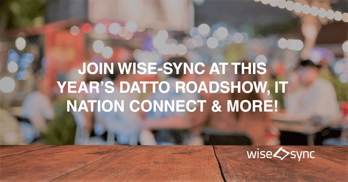 Join us at the Datto Roadshow, IT Nation Connect and more!
